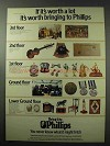 1977 Phillips Auctioneers Ad - If It's Worth a Lot