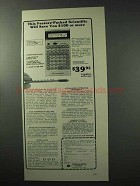 1977 Commodore LC43SR Calculator Ad - Feature-Packed