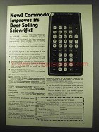 1977 Commodore SR9190R Calculator Ad - Best Selling