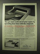1977 Savin 780 Copier Ad - Get More Work Out Of