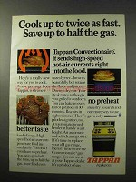 1977 Tappan Convectionaire Gas Range Ad - Cook Fast