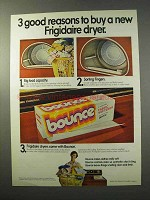 1977 Bounce Dryer Sheets Ad - 3 Good Reasons to Buy