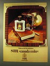 1977 4711 Sir Canada Ceder Cologne Ad - In German - Tribut