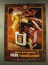 1977 4711 Sir Canada Ceder Cologne Ad - In German