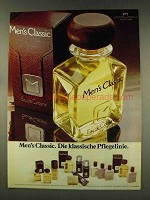 1977 Cantilene Men's Classic Eue de Cologne - German