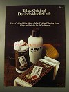 1977 Tabac Original After Shave Ad - in German - individuelle