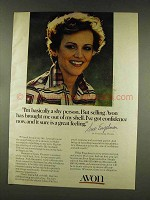 1977 Avon Products Ad - I'm a Shy Person
