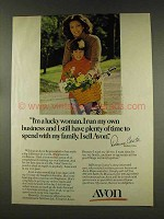 1977 Avon Products Ad - I'm a Lucky Woman