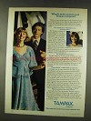1977 Tampax Tampons Ad - Why Do More Women Trust?