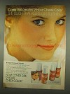 1977 Cover Girl 9-hour Cheek Color Ad - Cindy Harrell