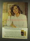 1977 Miss Clairol Hair Color Ad - Look Natural