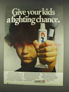 1977 Crest Tooothpaste Ad - Give a Fighting Chance
