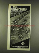 1977 Harrington & Richardson Model 676 Revolver Ad