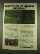 1977 Phillips 66 Oil Ad - Find the Well?