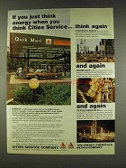 1977 Citgo Oil Ad - If You Just Think Energy