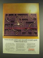 1977 Conoco Oil Ad - Nature Doesn't Explore One Path