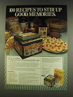 1977 Pet Milk and Heartland Cereal Ad - Recipes