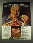 1977 Hunt's Tomato Sauce Ad - Same Old Thing