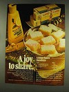 1977 Land O Lakes Butter and Minute Maid Lemon Juice Ad