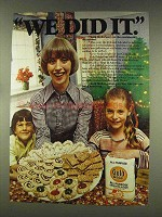 1977 Gold Medal Flour Ad - We Did It