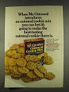 1977 Quaker Oatmeal Cookie Mix Ad