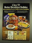 1977 Ralston Chex Cereal Ad - Better Breakfast Builder