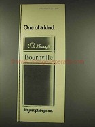 1977 Cadbury's Bournville Chocolate Ad - One of a Kind