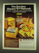 1977 Borden Cheese Ad