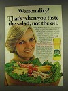 1977 Wesson Oil Ad - Florence Henderson - Wessonality