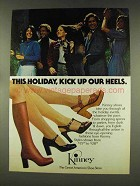 1977 Kinney Boots and Shoes Ad - Kick Up Our Heels