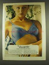 1977 Vassarette Bra Ad - Makes Frankly Feminine