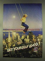 1977 Levi's Jeans Ad - Let Yourself