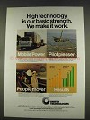 1977 United Technologies Ad - Our Basic Strength