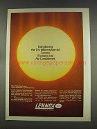 1977 Lennox Solarmate Systems Ad - 5 Billion-Year Old