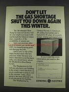 1977 General Electric Weathertron Heat Pump Ad