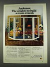 1977 Andersen Windowalls Ad - Build a Room Around