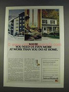 1977 Andersen Windowalls Ad - You Need Us at Work