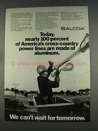 1977 Alcoa Aluminum Ad - Cross-Country Power Lines