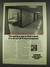 1977 Digital LSI-11 Computer Ad - Find a Nurse