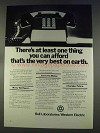 1977 Bell Labs and Western Electric Ad - Best on Earth