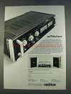 1977 Studer Revox Audio Equipment Advertisement - in German
