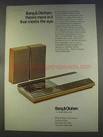 1977 Bang & Olufsen Beocenter 3300 Ad - Meets the Eye