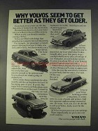 1977 Volvo Car Ad - Get Better As They Get Older
