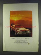 1977 Cadillac Car Ad - What It Means To Own