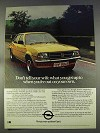1977 Opel Ascona Ad - Don't Tell Your Wife