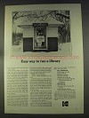 1977 Kodak Microfilm Ad - Easy Way to Run a Library
