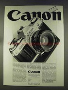 1977 Canon AE-1 Camera Ad - in German