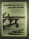 1977 Pflueger Electric Motors Ad - America's Finest