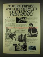 1977 Employers Insurance of Wausau Ad - The Enterprise