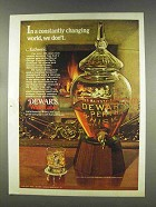 1977 Dewar's White Label Scotch Ad - Changing